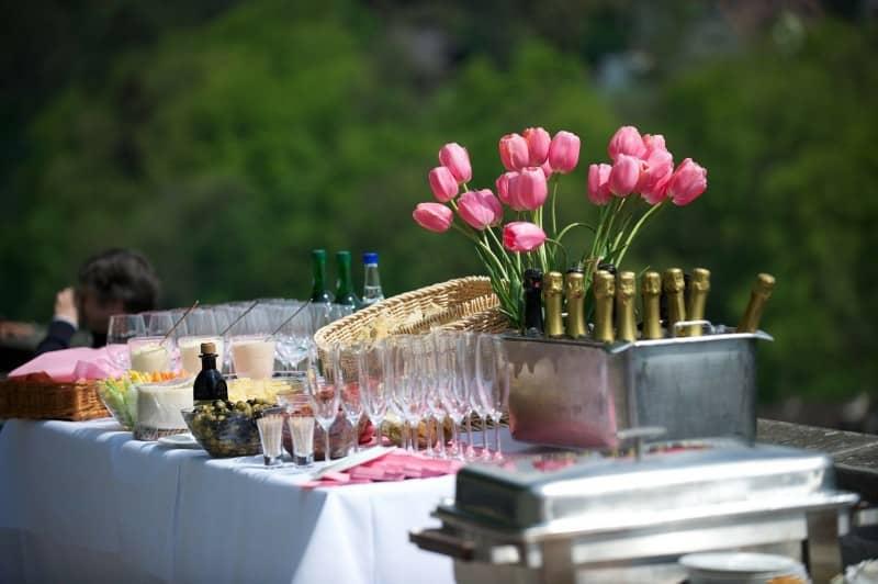 Catering na imprezie